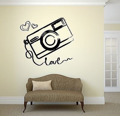 Wall Vinyl Sticker Photo Photography Room Art Kids Teen Room Love Girl 2046