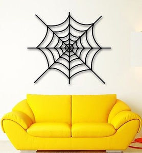 Wall Stickers Vinyl Decal Cobweb Spider Web Decor for Living Room 1335