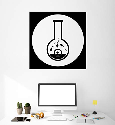 Vinyl Decal Wall Sticker Biological Experiments Icons Conception Life n753