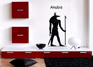 Vinyl Decal Wall Sticker Ancient Egyptian God Anubis n701