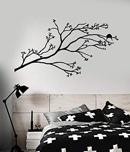 Vinyl Wall Decal Beautiful Bird On Tree Branch Room Decor Stickers 2288