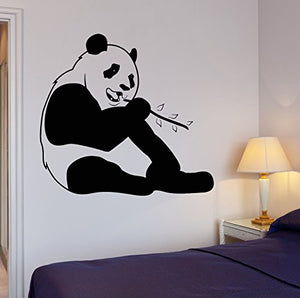 Vinyl Wall Decal Funny Panda Animal Positive Room Decor Stickers 302