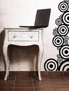 Wall Vinyl Sticker Decal Circles Layers Little Big Decoration n087