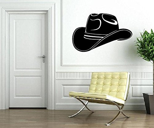 Vinyl Decal Wall Sticker Cowboy Hat Texas Lone Star State 596