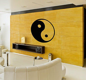 Vinyl Wall Decal Yin Yang Symbol Asian Decor Room Design Stickers Mural 147