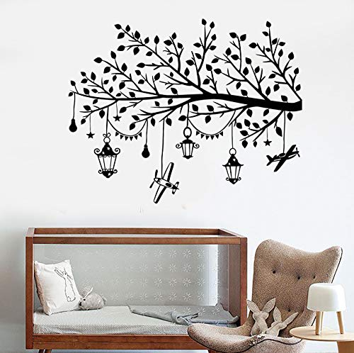Vinyl Wall Decal Magic Beautiful Tree Branch Toys Children's Room Sticker 1417ig