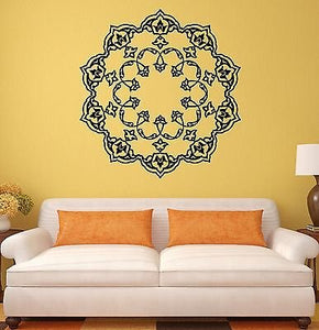 Wall Stickers Mandala Buddhism Mascot Amulet Art Mural Vinyl Decal 1991