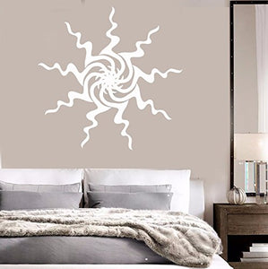 Vinyl Wall Decal Sun Art Room Decoration Home Interior Idea Stickers 325