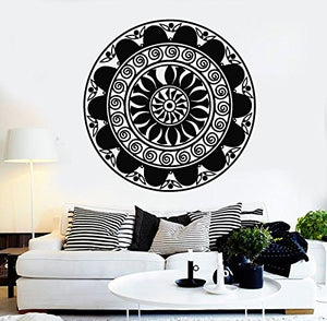 Vinyl Wall Decal Mandala Buddhism Hinduism Meditation Room Stickers 276