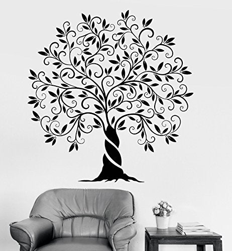 Vinyl Wall Decal Family Tree of Life Nature Home Decoration Stickers 1200