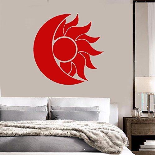 Vinyl Wall Decal Abstract Moon Sun Room Decoration Stickers 2267