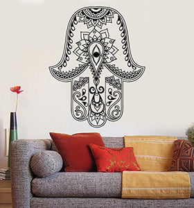 Vinyl Wall Decal God's Hand Hamsa Amulet Judaism Stickers 834