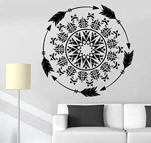 Vinyl Wall Decal Arrows Protective Amulet Ornament Ethnic Style Stickers 1207ig