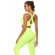 Sculpt-It™ Honeycomb Leggings - Dolton active wear
