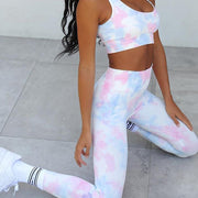 Ambitious Tie Dye 2pc/Set (Sports Bra) - Dolton Apparel