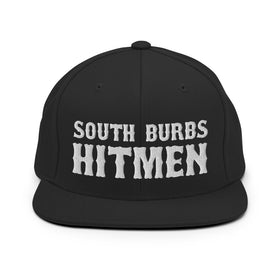 South Burbs Hitmen Flatbill Snapback Hat