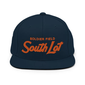 South Lot Wool High-Profile Snapback Hat