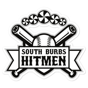 South Burbs Hitmen Sticker