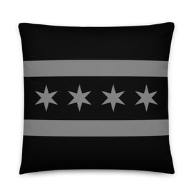 Stealth Flag Throw Pillow