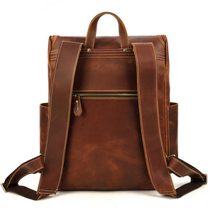 Rutherford Leather Backpack