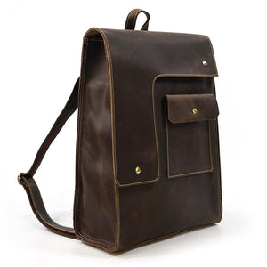 Houston Leather Backpack