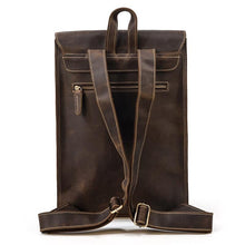 Load image into Gallery viewer, Houston Leather Backpack