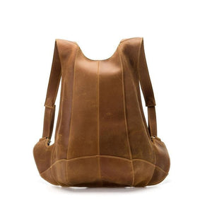 Atna Retro Crazy Horse Leather Anti-Theft Backpack - Chilco Leather