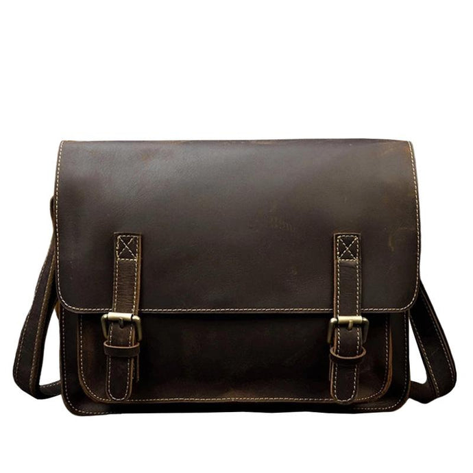 Creston Vintage Leather Shoulder Bag