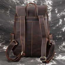 Load image into Gallery viewer, Dundas Crazy Horse Leather Backpack - Chilco Leather