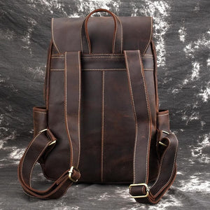 Dundas Crazy Horse Leather Backpack - Chilco Leather
