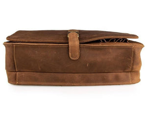 Gilford Full Grain Leather Briefcase - Chilco Leather