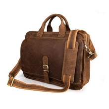 Load image into Gallery viewer, Gilford Full Grain Leather Briefcase - Chilco Leather