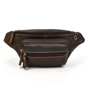 Hardy Full Grain Leather Waist Bag - Chilco Leather