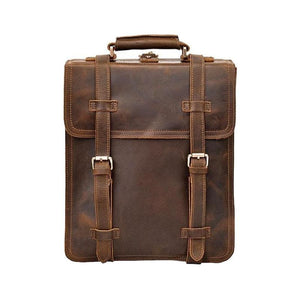 Hobart Leather Travel Backpack