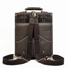 Load image into Gallery viewer, Hobart Vintage Crazy Horse Leather Travel Backpack - Chilco Leather