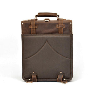 Hobart Vintage Crazy Horse Leather Travel Backpack - Chilco Leather