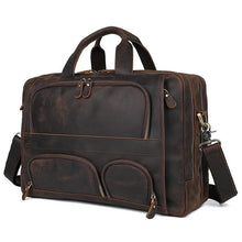 Load image into Gallery viewer, Husson Crazy Horse Leather Briefcase - Chilco Leather