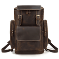 Jackson Leather Travel Backpack