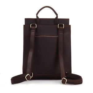 Madalin Crazy Horse Leather Backpack - Chilco Leather