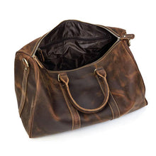 Load image into Gallery viewer, Monarch Leather Travel Duffle Bag