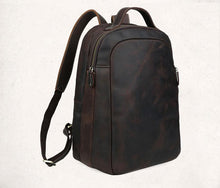 Load image into Gallery viewer, Morton Men's Leather Backpack