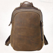 Load image into Gallery viewer, Morton Men's Crazy Horse Leather Backpack - Chilco Leather