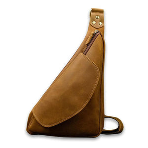 Odin Crazy Horse Leather Crossbody Bag - Chilco Leather