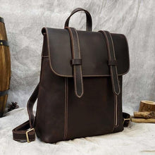 Load image into Gallery viewer, Palmer Vintage Crazy Horse Leather Backpack Backpack