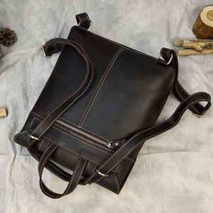 Palmer Vintage Crazy Horse Leather Backpack Backpack