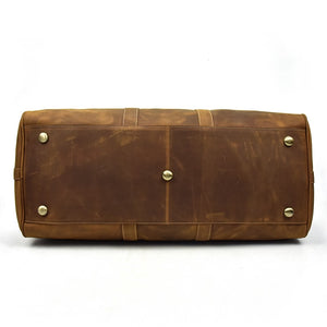 "Bralorne 24"" (60cm) Large Leather Travel Bag"