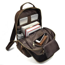 Load image into Gallery viewer, Atlin Crazy Horse Leather Backpack - Chilco Leather