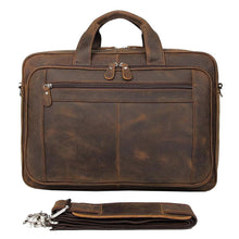 Load image into Gallery viewer, Bowron Crazy Horse Leather Briefcase - Chilco Leather