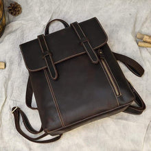 Load image into Gallery viewer, Palmer Vintage Crazy Horse Leather Backpack - Chilco Leather