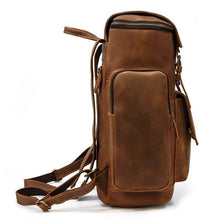 Load image into Gallery viewer, Jackson Crazy Horse Leather Travel Backpack - Chilco Leather